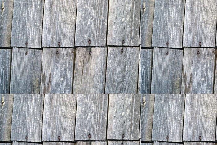 Tapeta Pixerstick Staré dřevěné stěny - Struktury