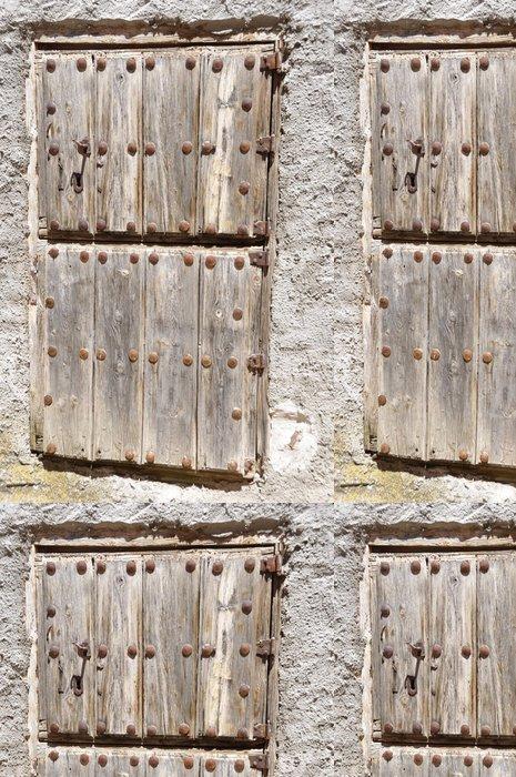 Tapeta Pixerstick Staré dveře - Památky