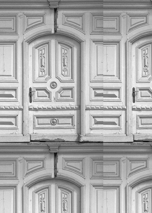 Vinylová Tapeta Staré dveře - Soukromé budovy