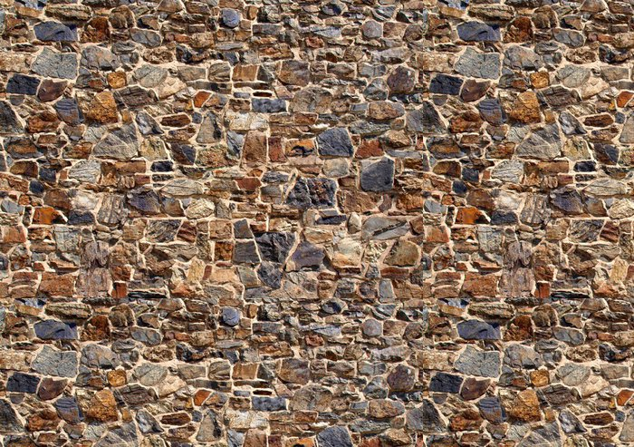 Tapeta Pixerstick Staré kamenné zdi - Témata