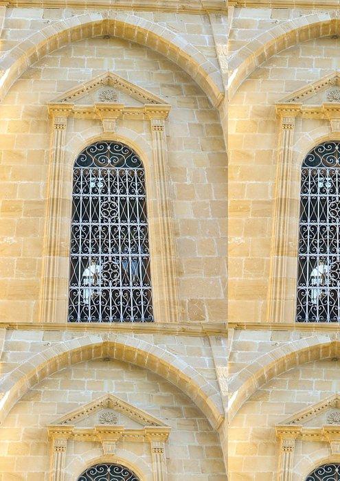 Tapeta Pixerstick Staré kostelní okno - Veřejné budovy