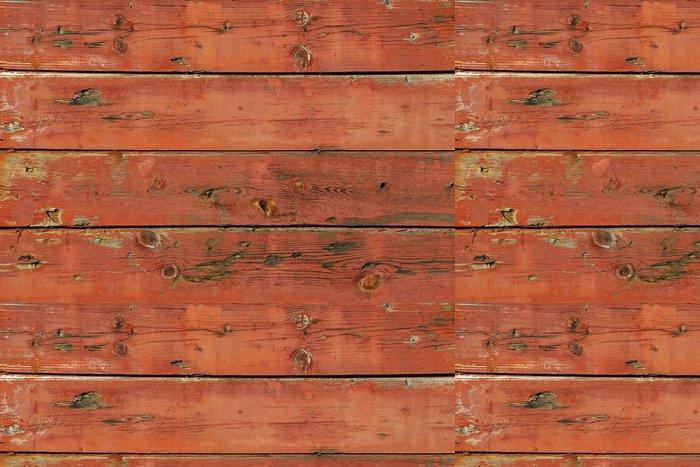 Tapeta Pixerstick Staré malované dřevěné desky vůz stranu jako pozadí - Struktury