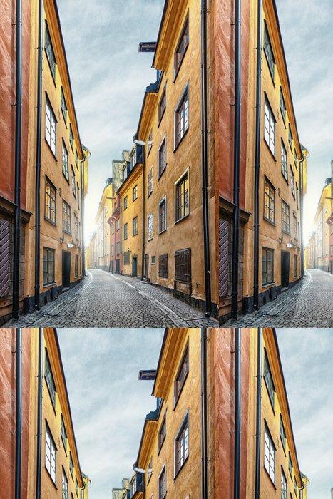 Vinylová Tapeta Staré Město ve Stockholmu -