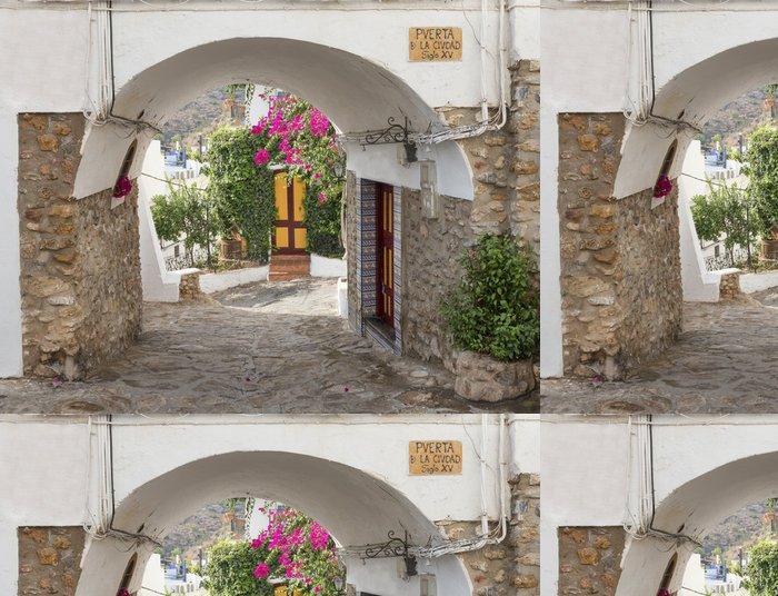 Tapeta Pixerstick Staré Vstup do Mojacar Village, Almeria, Andalusie, Španělsko - Evropa