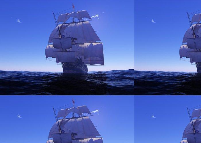 Tapeta Pixerstick Starobylé lodi - Lodě