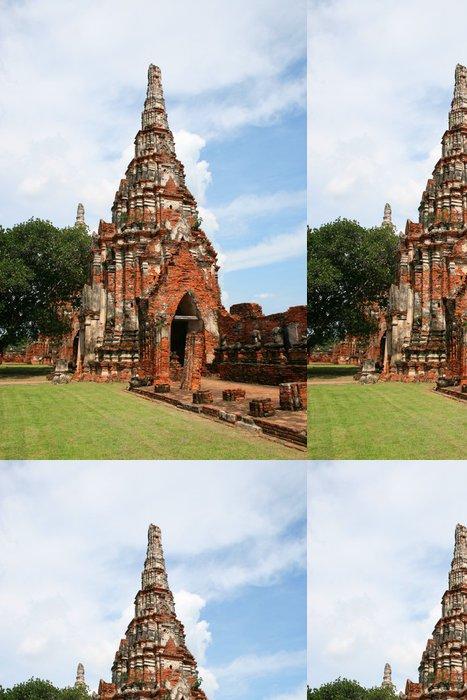 Tapeta Pixerstick Starobylé město Ayutthaya, Thailand. - Asie