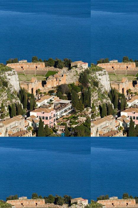 Tapeta Pixerstick Starověké řecké divadlo v Taormině - Evropa
