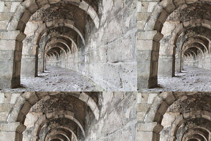 Vinylová Tapeta Starověké římské divadlo v Turecku - Stavby a architektura