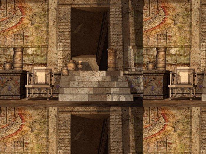 Tapeta Pixerstick Starověký egyptský chrám - Afrika
