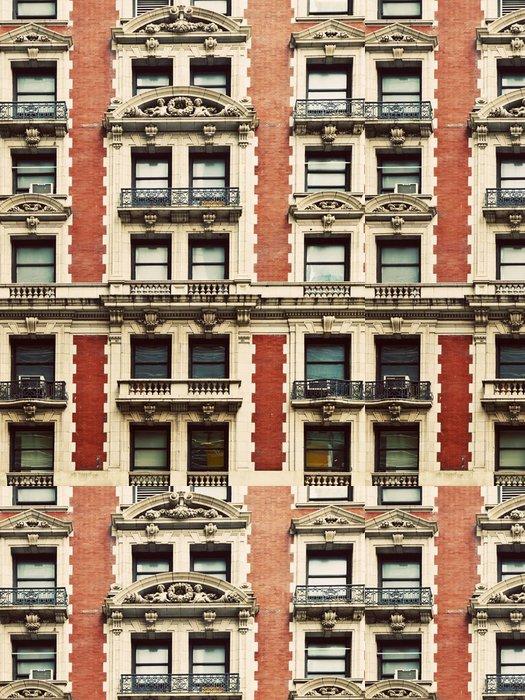 Tapeta Pixerstick Starý dům na Manhattanu - Amerika