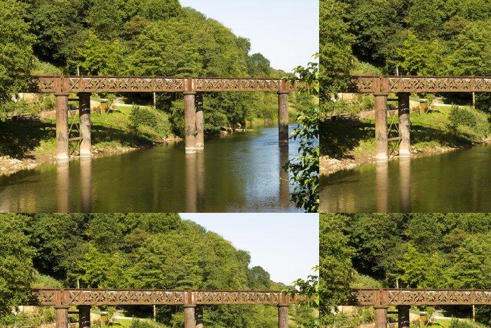 Vinylová Tapeta Starý železniční most, Redbrook. - Infrastruktura
