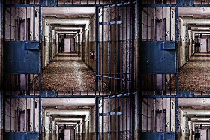 Vinylová Tapeta Stasi vězení Hohenschönhausen - Evropská města