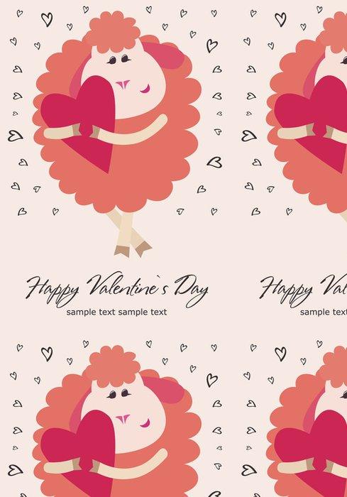 Vinylová Tapeta Šťastný Valentýna - Mezinárodní svátky