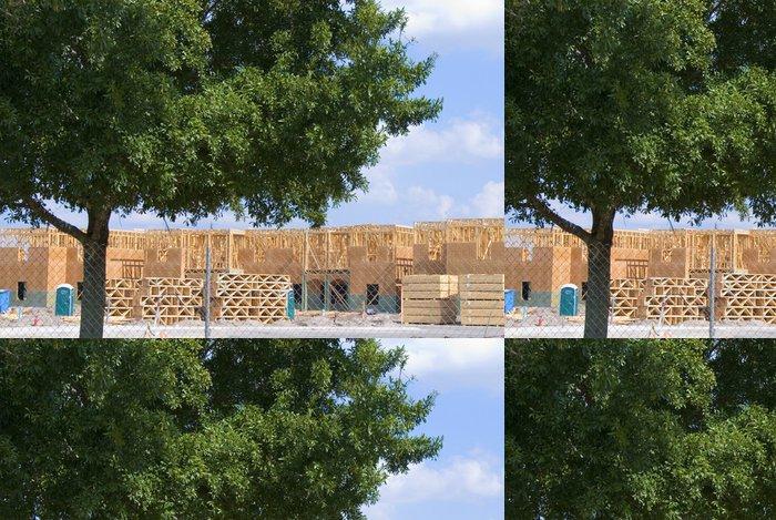 Tapeta Pixerstick Stavba strom - Těžký průmysl
