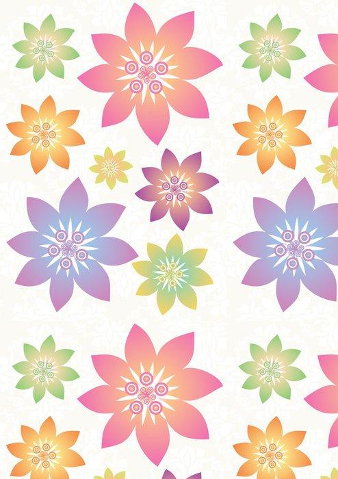 Tapeta Pixerstick Stock vektorové ilustrace: květina set - Květiny