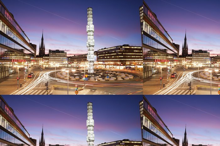 Tapeta Pixerstick Stockholm City Center, Sergels Torg - Evropa