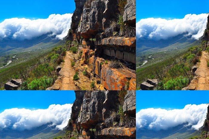 Tapeta Pixerstick Stolová hora Jižní Afrika výlet stezka - Příroda a divočina