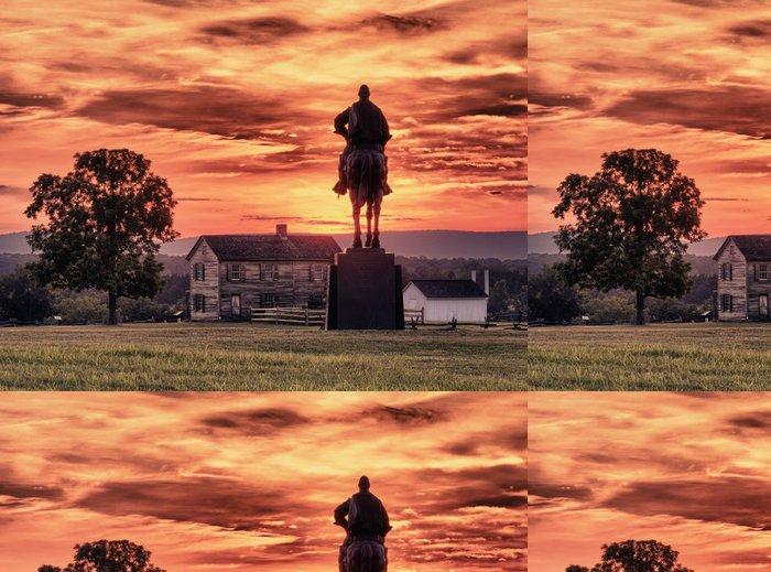 Tapeta Pixerstick Stonewall Jackson na Manassas Battlefield - Amerika