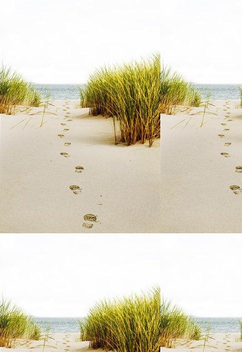 Vinylová Tapeta Stopy v písečných dunách - Prázdniny