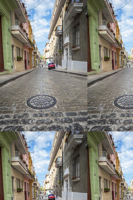 Tapeta Pixerstick Strada dell'Havana - Témata