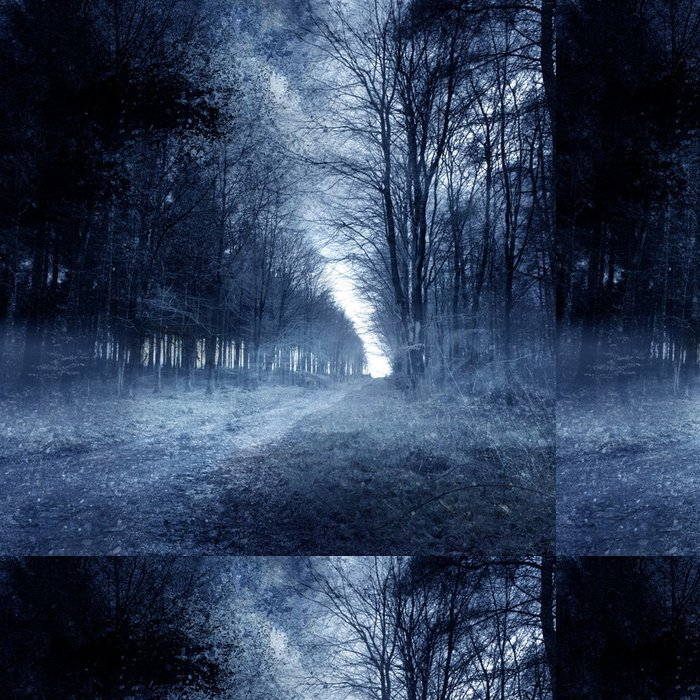 Tapeta Pixerstick Strašidelný les - Témata