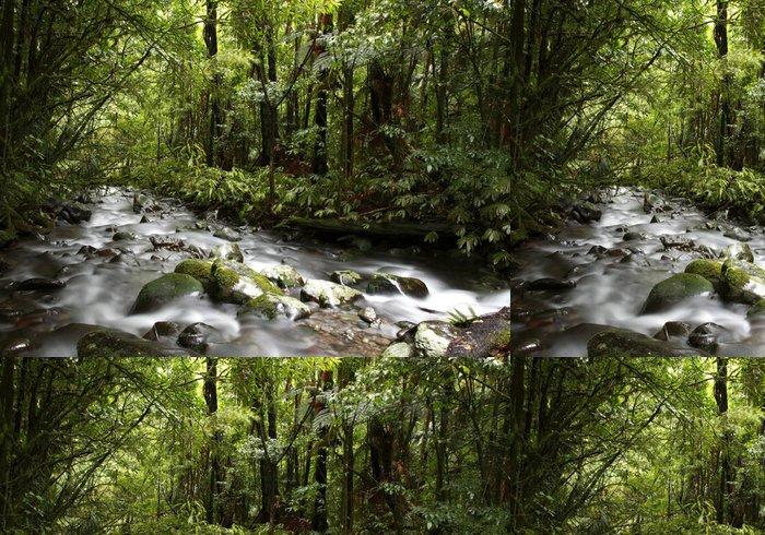 Tapeta Pixerstick Stream v lese - Voda