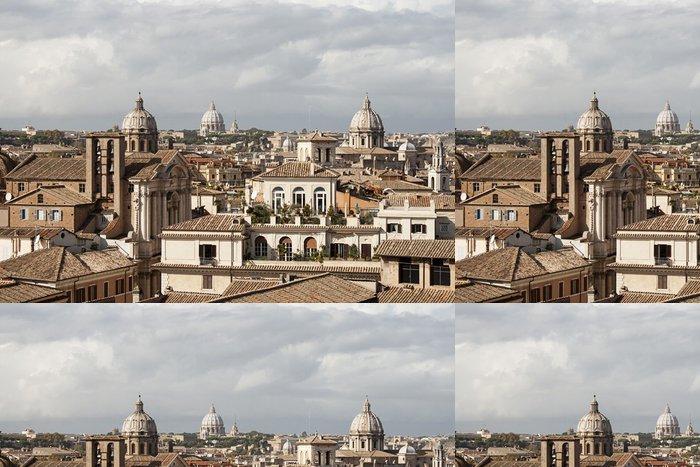 Tapeta Pixerstick Střechy Říma - Témata