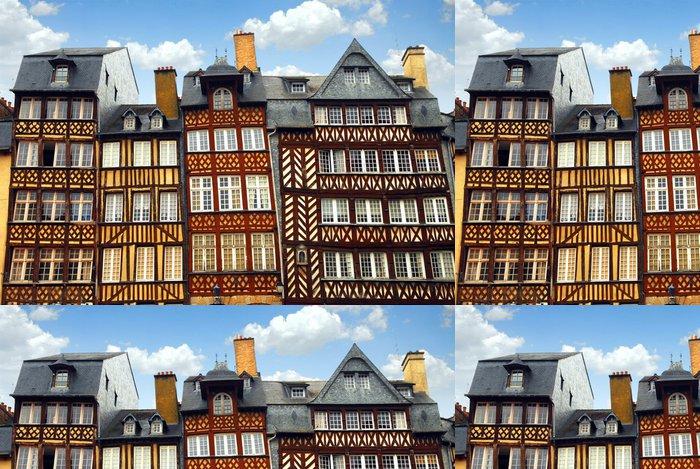 Tapeta Pixerstick Středověké domy - Evropa