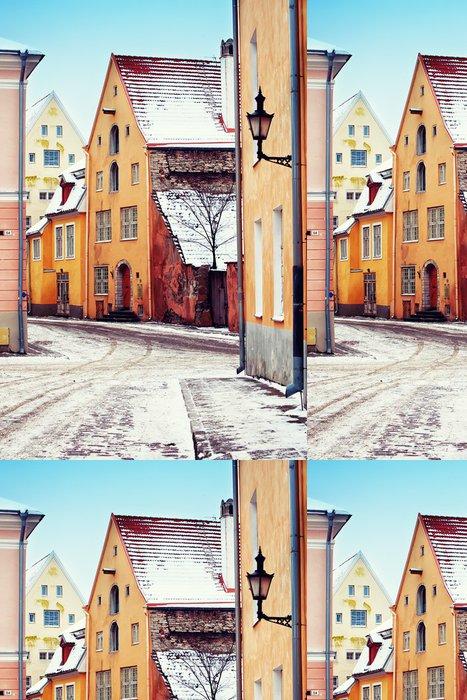 Vinylová Tapeta Středověké ulice na Starém Městě v Tallinnu - Evropa