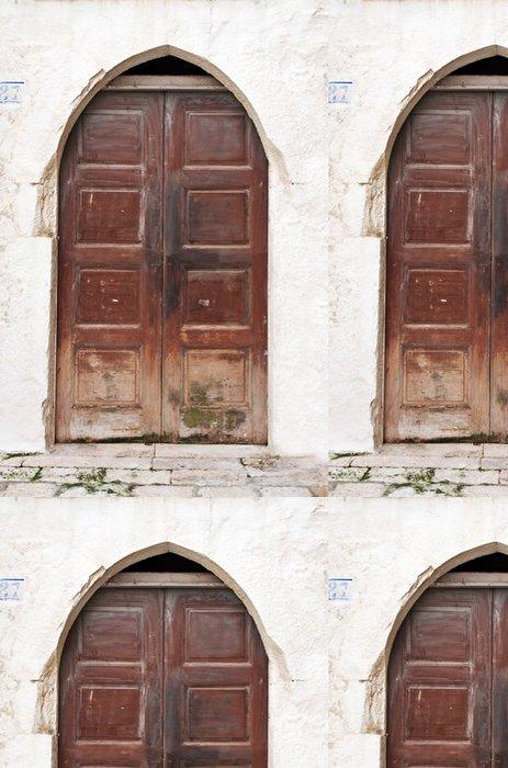 Vinylová Tapeta Středozemí staré dveře - Evropa