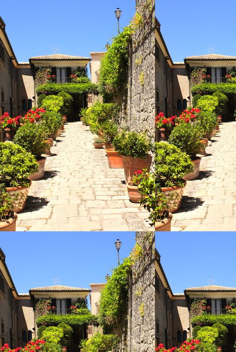 Vinylová Tapeta Street v San Marino - Evropa