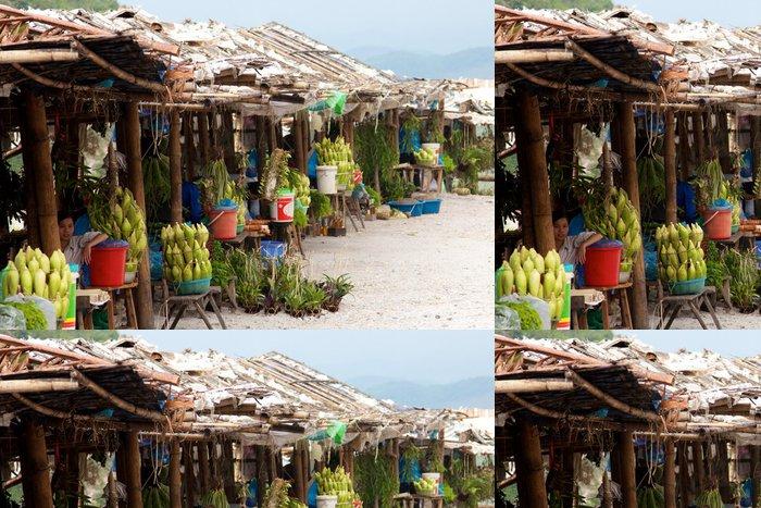 Tapeta Pixerstick Streetmarket Vietnam - Asie