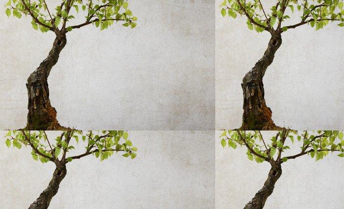 Tapeta Pixerstick Strom na pozadí zničený - Roční období
