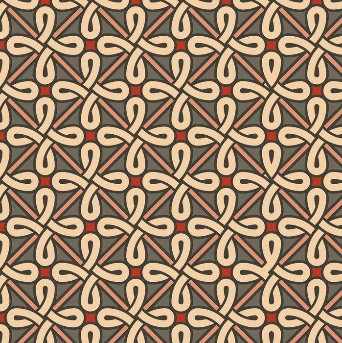 Tapeta Pixerstick Stylový geometrický ornament - Pozadí