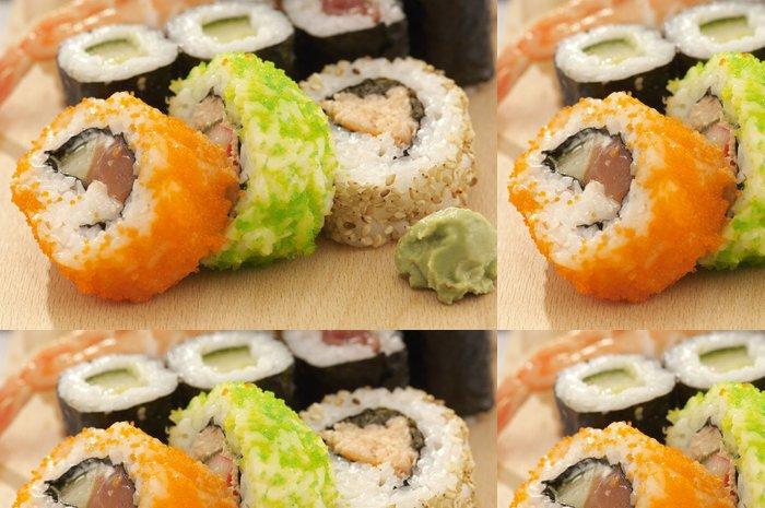 Vinylová Tapeta Suši - Sushi