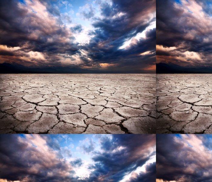 Tapeta Pixerstick Sucho země - Přírodní katastrofy