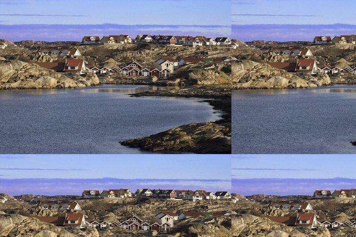 Tapeta Pixerstick Suecia, pueblo en La Costa Oeste - Evropa