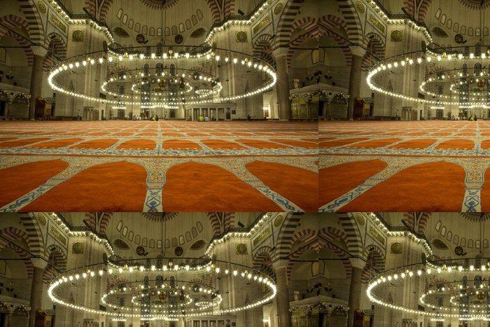 Tapeta Pixerstick Suleymanie Mosque - Životní styl, péče o tělo a krása