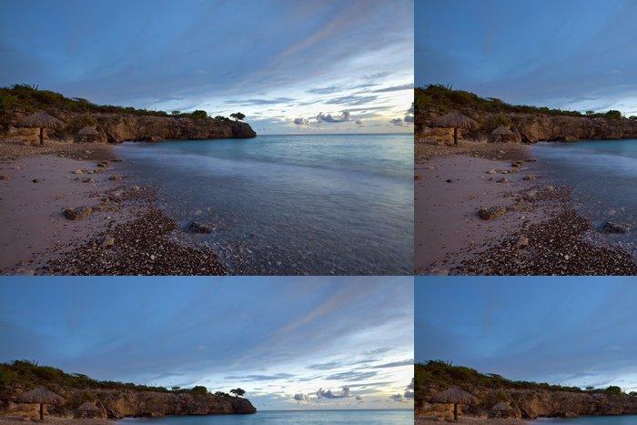 Tapeta Pixerstick Sunset Curacao - Příroda a divočina