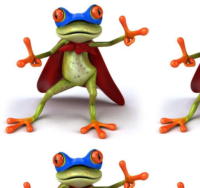 Tapeta Pixerstick Super žába - Značky a symboly
