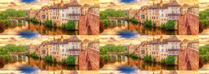 Vinylová Tapeta Sur le Pont Vieux, Espalion, Aveyron. - Prázdniny