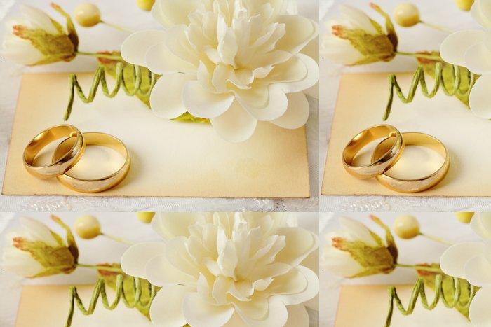 Tapeta Pixerstick Svatební oznámení - Slavnosti