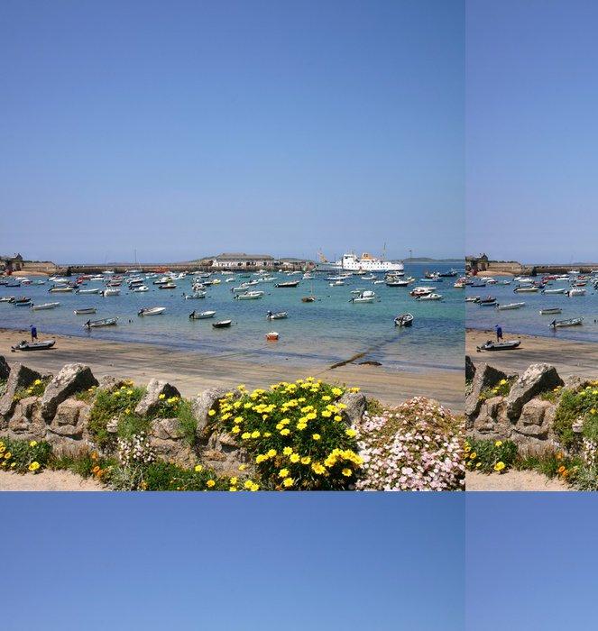 Tapeta Pixerstick Svatý. mary přístav, ostrůvky Scilly, uk. - Voda