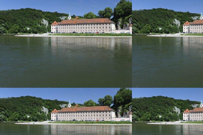 Tapeta Pixerstick Svět Burgkloster Dunaj - Památky