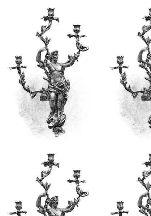 Vinylová Tapeta Svícen - Styl Louis XV - 18. století - Veřejné budovy