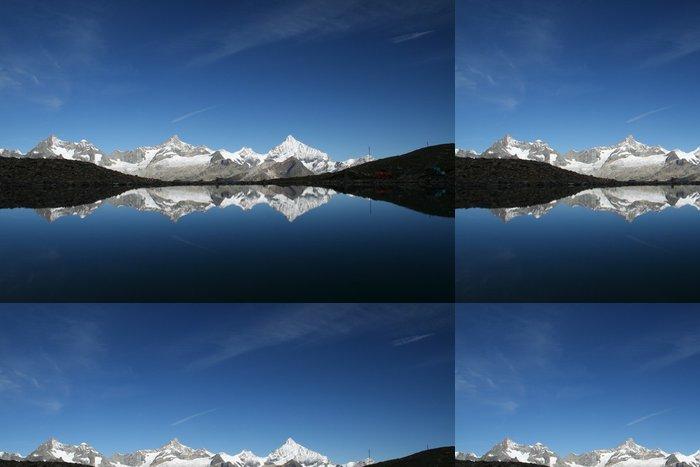 Tapeta Pixerstick Švýcarské Alpy - Outdoorové sporty
