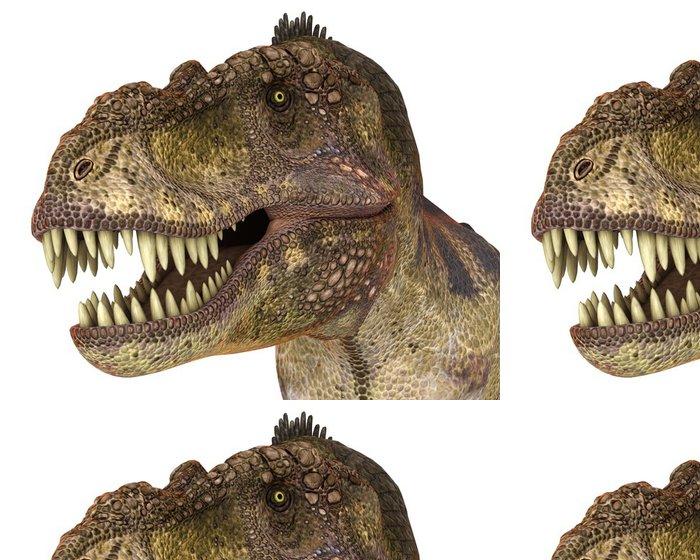 Tapeta Pixerstick T rex zírající - Nálepka na stěny