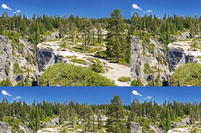 Tapeta Pixerstick Taft Point Lookout, Yosemite, Kalifornie - Amerika
