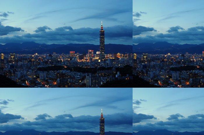 Tapeta Pixerstick Taipei101 - Asie