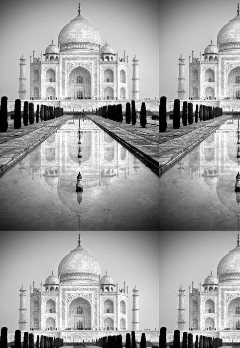 Tapeta Pixerstick Taj Mahal, Agra, Uttar Pradesh, Indie. - Asie